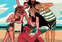 Tobias and Guy comics