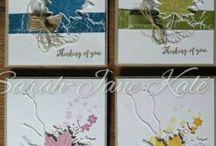 Card - SU colourful seasons
