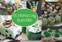 St Patricks Day / treats, decor, deserts, drinks