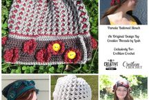Crochet Hats,Headbands, Crowns & Masks / Crochet images and patterns, and tutorial links for hats. Includes some group links for a variety of patterns mixed in with the hats.  / by Grace Hedenquist