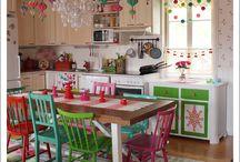 dapur warna warni