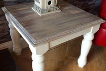 Annie sloan old white table