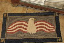 Patriotic Needlework