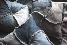 átszabás/maradék/farmer / textil