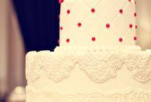 торт для красной свадьбы