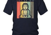 Let It Go - Meditation Buddha Shirt