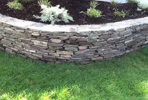 JLS Stone Wall Projects / Examples of our expert hardscape wall design and installation projects.