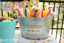 Summer Pool Party Ideas / Ideas, recipes, games and decorations for both adult and child centered pool parties.