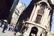 Barrio la bolsa! Santiago de Chile