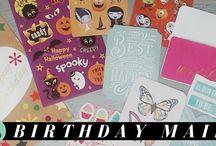 My Happy Mail Videos