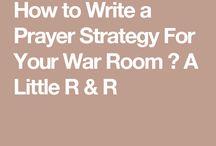 Prayer Strategies