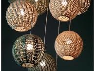 szydelkowe lampy