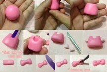 Step by step / Instructions of how to make fondant figures and other things, with pics step by step / by Pernilla Lyck