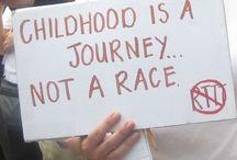 Promoting Play / inspiring words celebrating a playful childhood