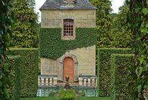 huizen en tuinen