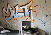 Εφηβικό - Ζωγραφική παιδικού δωματίου / Τα εφηβικά δωμάτια του Artease Design Lab