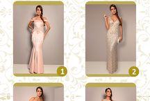 Wishlist Fits U / Separamos aqui vestidos MARAVILHOSOS para vocês contarem qual está no topo da sua lista de desejos do vestido do sonho?