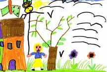 I disegni dei bambini / Come vedono la natura i bambini? Ecco!