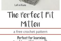 Free pattern ladies mittens