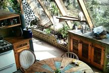 HOUSES - earthy interiors
