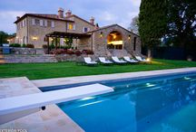 Villas of Tuscany, Italy / Rustic Farmhouse, gourmet kitchens and luxurious outdoor living.  Homebase Abroad's villas are comfortable and private.