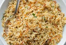 Rice and side dishes