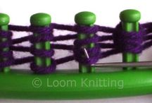 loom knitting / by Dawn Sampson
