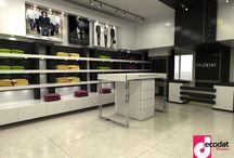 Shopping Interior Design / Designed by Decodat interior design company