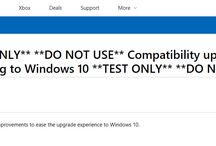 Dynamic Windows 10 Update KB4078128 Shows Up in WSUS, Points to a Warning Page