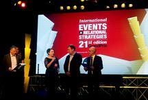 Neosperience @ International GrandPrix 2014 / Neosperience wins the first prize in the Mobile Marketing category at the 2014 International Events & Relational Strategies GrandPrix, for its project Carpigiani MyGelato App.