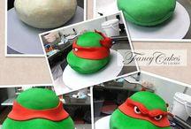 Taart turtle