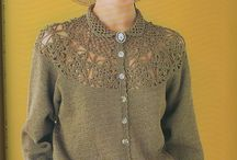I want dress with crocheted yoke