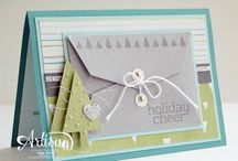 SU Gift Card Envelope & Trims Thinlits