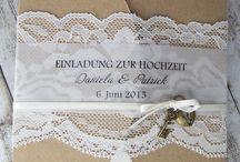 Hochzeitsinladungskarte