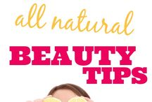 natural beauty tips / by Crystal Stephens