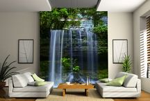 Wallpaper Waterfall