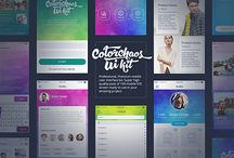 ColorChaos IOS Mobile UI kit