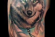 Wolf Tatoos
