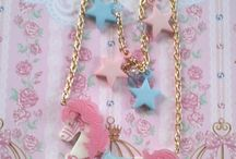 Lolita, Fairy Kei and others / Cute clothes and accessories from a few different Japanese or Japan inspired fashions.