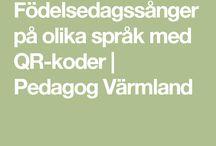 sånger qr kod