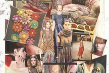 FASHION & COLOUR Collage /Inspirations & Patterns