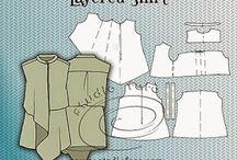 LAYERD CLOTHES/PATTERNS