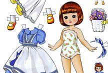 papierové bábiky