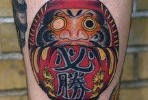 Tattoo giapponesi daruma