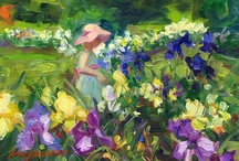 2013 Art Exhibition / American Impressionist Lisa Palombo's works will be on view at Presby inside the historic Walther House from May 10 through June 5, 2013.