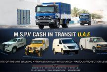 Cash in Transit CIT Vehicles UAE