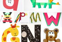 kids crafts letter of the week