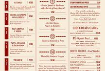 menu design / by Graham Williamson
