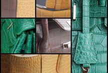 De La Haye Collection / Een nieuw high-end Nederlands designer mode merk met accessoires van exotisch leer, die de succesvolle luxe levensstijl bevestigen. Crocodile collectie met stijlvolle en elegante hand-en schoudertassen, totes, baguettes, frame bags, mini, business, evening, clutch, riemen en portemonnees. Gemaakt met vakmanschap van zeldzaam en gecertificeerd real python en krokodillenleer.
