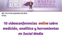 2º Anticongreso AERCO Online sobre Estrategia Digital / Del 3 al 14 de noviembre de 2014 tendrá lugar la segunda edición del Anticongreso AERCO Online sobre estrategia digital, 10 videoconferencias online sobre medición, analítica y herramientas en #SocialMedia.